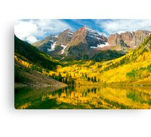 Maroon Bells - Aspen, CO Canvas Print