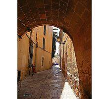 An Alley In Ciutadella............................Menorca Photographic Print
