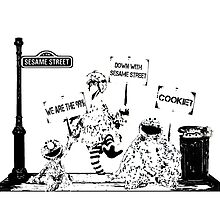 Occupy Sesame Street by dobiegerl