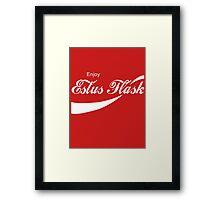 Coca Cola Estus Flask Framed Print