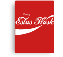 Coca Cola Estus Flask Canvas Print