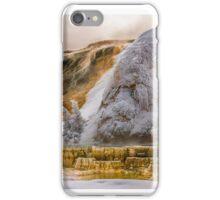 WINTER HOT SPRINGS iPhone Case/Skin