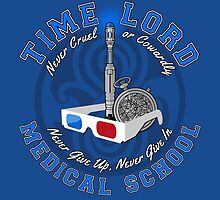 Time Lord Medical School 10 by DrRoger