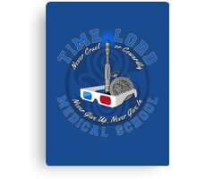 Time Lord Medical School 10 Canvas Print