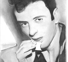 Joe Strummer by Paul Starkey