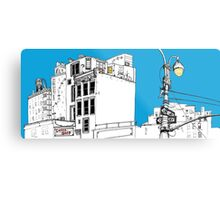 A Blue Day In New York Metal Print