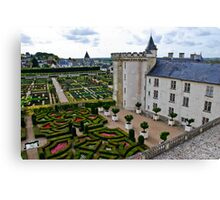 Villandry Castle - Loire Valley - France 3 Canvas Print