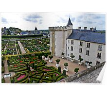Villandry Castle - Loire Valley - France 3 Poster
