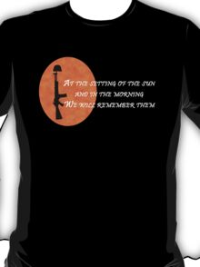 Rememberence T-Shirt