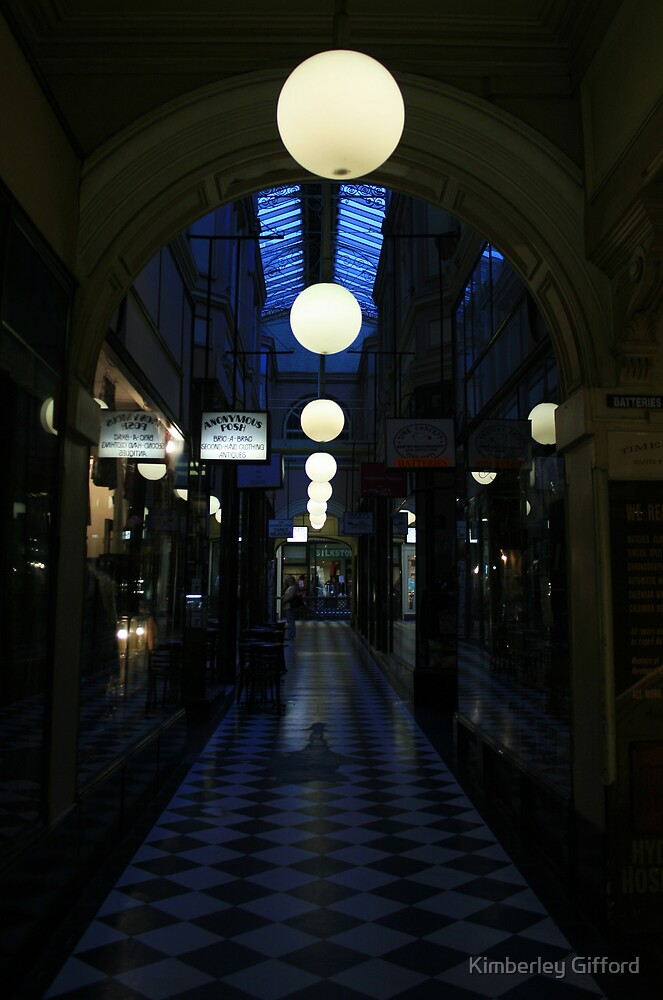 Arcade Nightlife by Kimberley Gifford