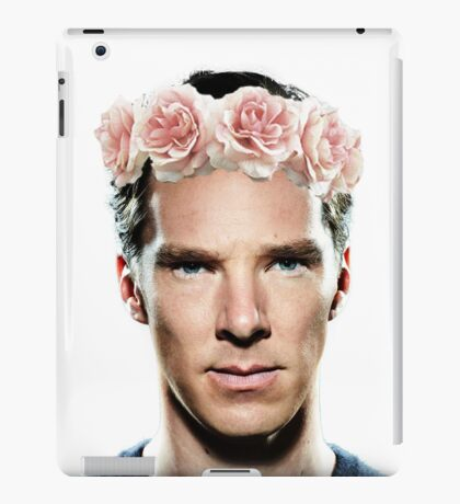 Benedict Flowerbatch iPad Case/Skin