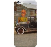 Route 66 Vintage Auto and Shed iPhone Case/Skin