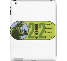 The OFFICIAL 2 COOL 2 GEEK Logo iPad Case/Skin