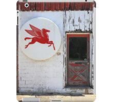 Route 66 - Rusty Mobil Station and Pegasus iPad Case/Skin