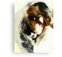 A Mothers Touch Canvas Print