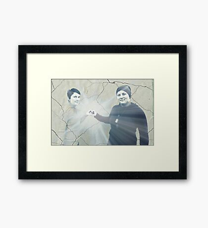 Where there is love, there is magic Framed Print