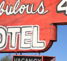 Route 66 - Fabulous 40 Motel Sticker
