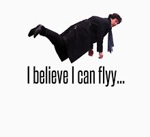 Sherlock CAN Fly!!!!!! Unisex T-Shirt