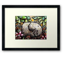 Ellie Elephant Framed Print