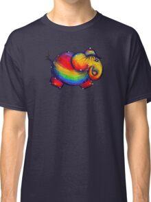 Rainbow Elephant Tshirt Classic T-Shirt