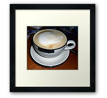Cup of Coffee. Framed Print
