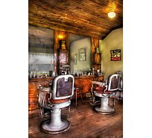 The Barber Shop Photographic Print