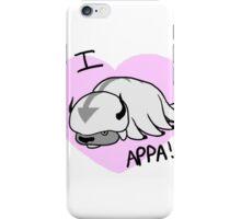 I LOVE APPA!!!!!!!!!!!!!!!!!!! iPhone Case/Skin