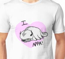 I LOVE APPA!!!!!!!!!!!!!!!!!!! Unisex T-Shirt