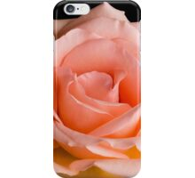 Peach Rose iPhone Case/Skin