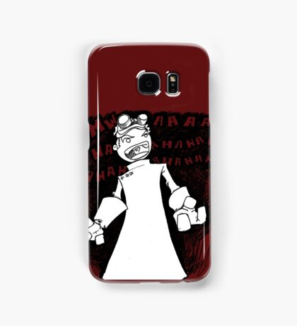 Doctor Horrible - Transparent Evil Laugh Samsung Galaxy Case/Skin