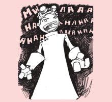 Doctor Horrible - Transparent Evil Laugh Kids Clothes