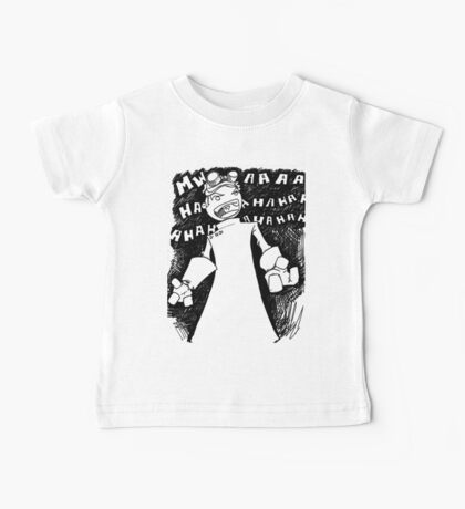 Doctor Horrible - Transparent Evil Laugh Baby Tee