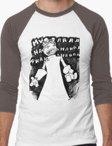 Doctor Horrible - Transparent Evil Laugh Men's Baseball ¾ T-Shirt