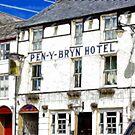 Fractalius Llanrwst Hotel by Trevor Kersley
