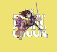 The Ragin' Cajun (Gambit; Black Background) Kids Clothes
