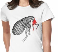 The flea... Womens Fitted T-Shirt