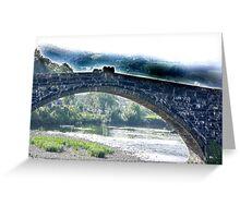 Bridge - Llanrwst North Wales Greeting Card