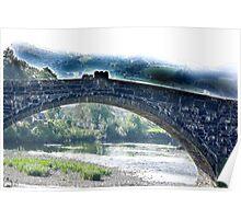 Bridge - Llanrwst North Wales Poster