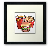 MCDONALDS is CUTE Framed Print