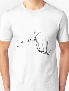 birds flying  Unisex T-Shirt