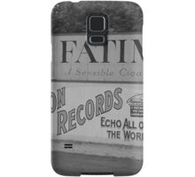 Old Time Baseball Field Samsung Galaxy Case/Skin