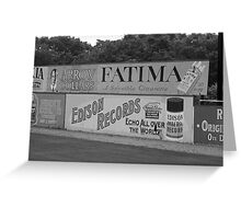 Old Time Baseball Field Greeting Card