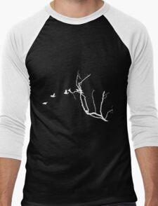 birds flying  Men's Baseball ¾ T-Shirt