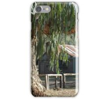 A Bush Hut Australia. iPhone Case/Skin