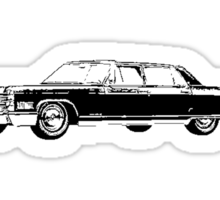 1966 Cadillac Fleetwood Sedan Sticker