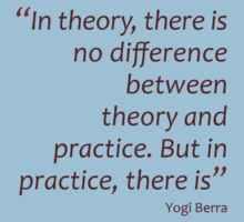Theory and practice... (Amazing Sayings) Kids Clothes