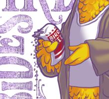 The Big Birdowski Sticker