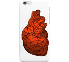 geometric heart of courage iPhone Case/Skin