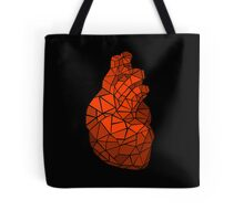 geometric heart of courage Tote Bag