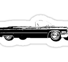 1966 Cadillac De Ville Convertible Sticker